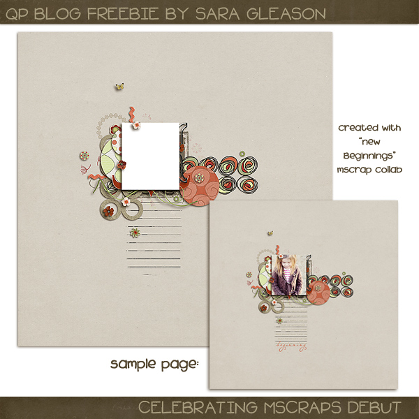 mscraps blog train freebie
